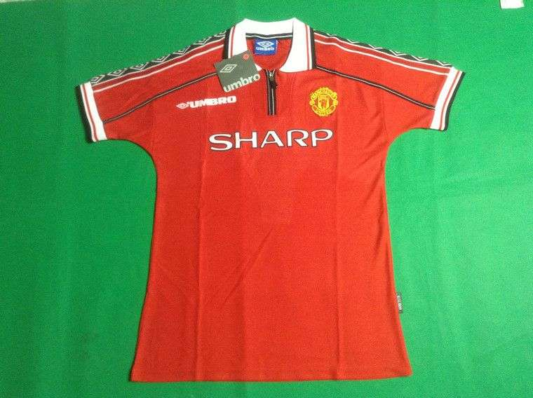 2a9c0e523 Manchester United 1998 99 Home – Discount Jerseys Ireland